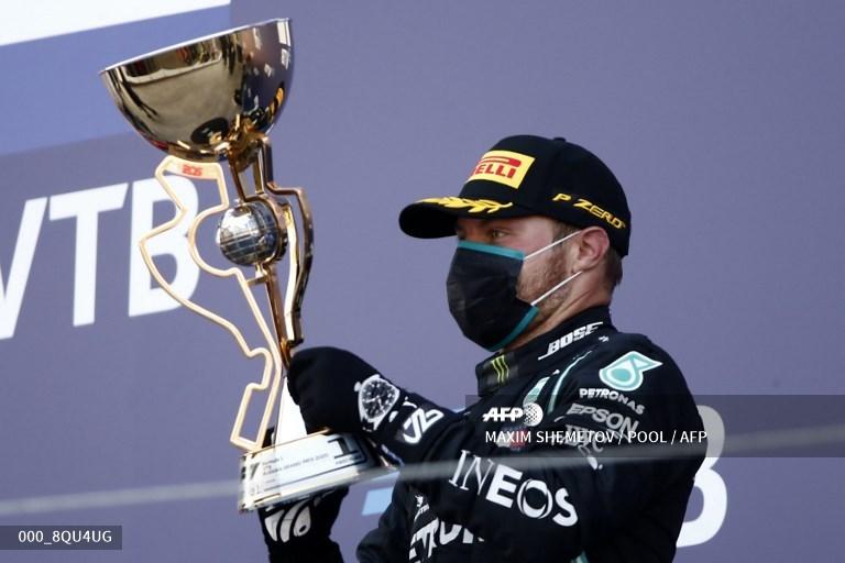 Bottas conquistou o GP da Rússia de F1