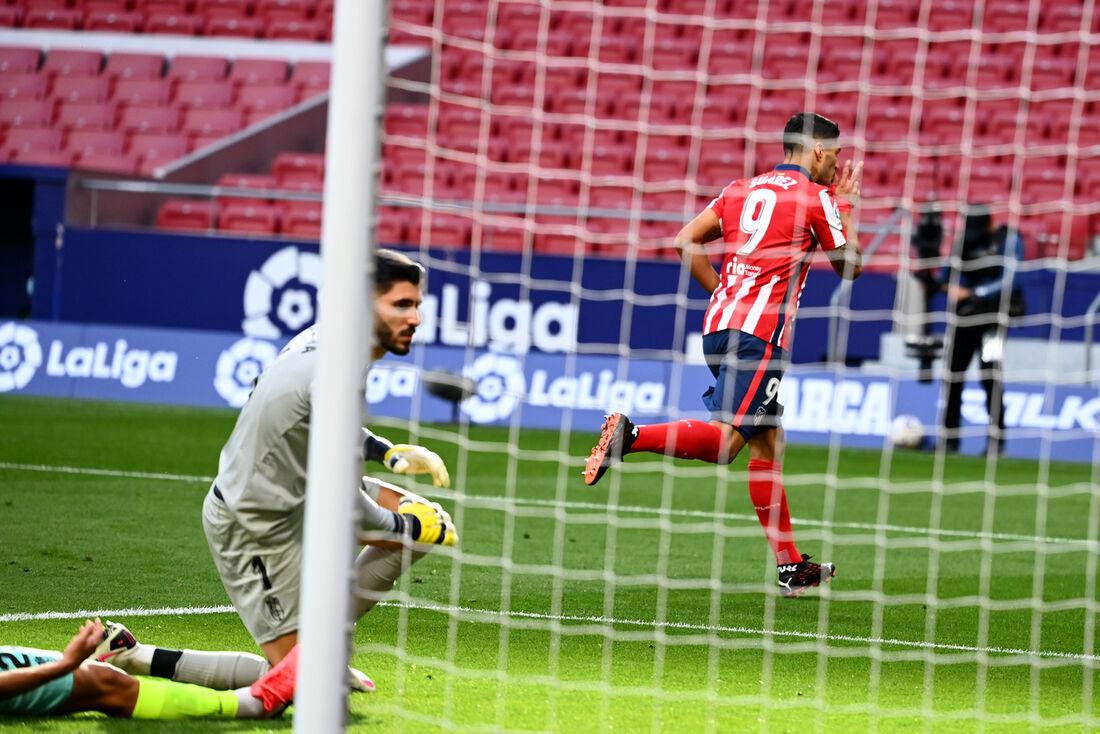 Suarez, atacante do Atlético de Madrid