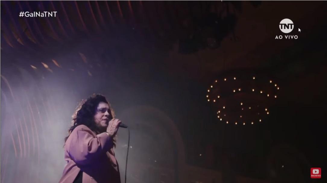 Gal fez uma live para celebrar seu aniversário de 75 anos