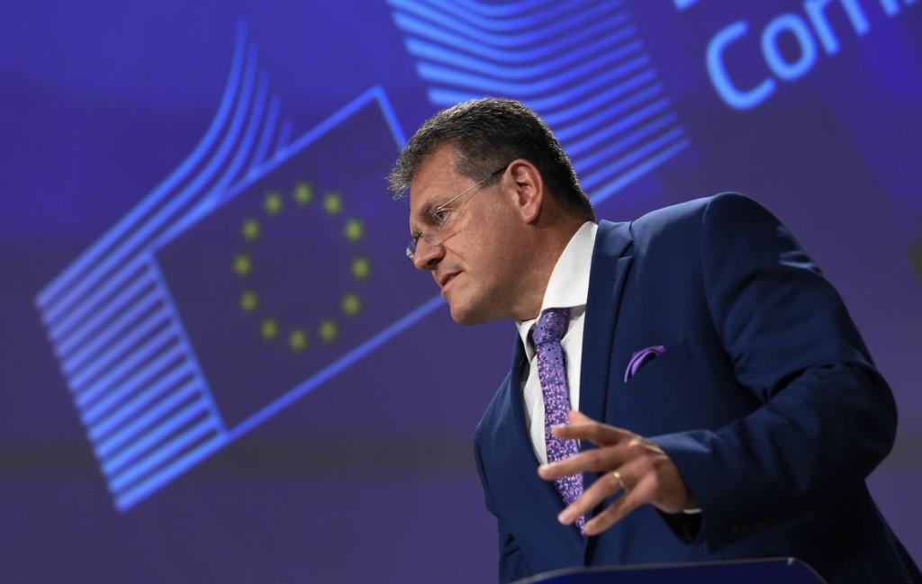 Vice-presidente da Comissão Europeia Maros Sefcovic