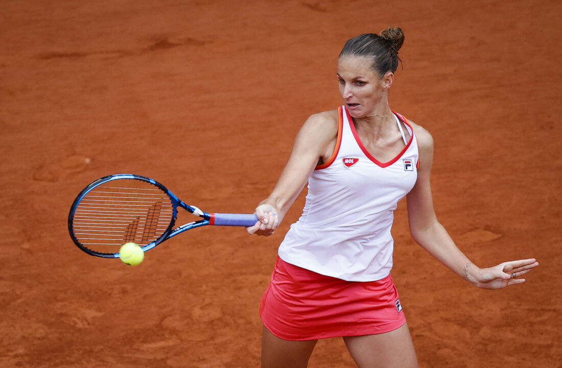 Karolína Pliskova avançou à segunda fase de Roland Garros