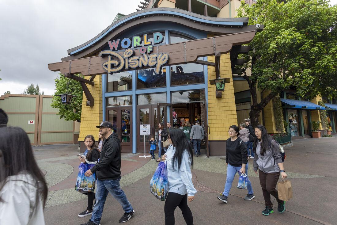 Parque de diversões da Disney nos Estados Unidos