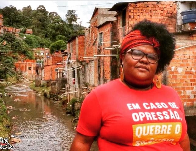 Keit Lima, pré-candidata à vereadora em São Paulo pelo PSOL