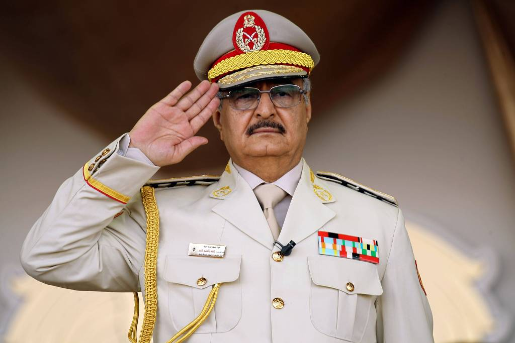 Khalifa Haftar, líder líbio