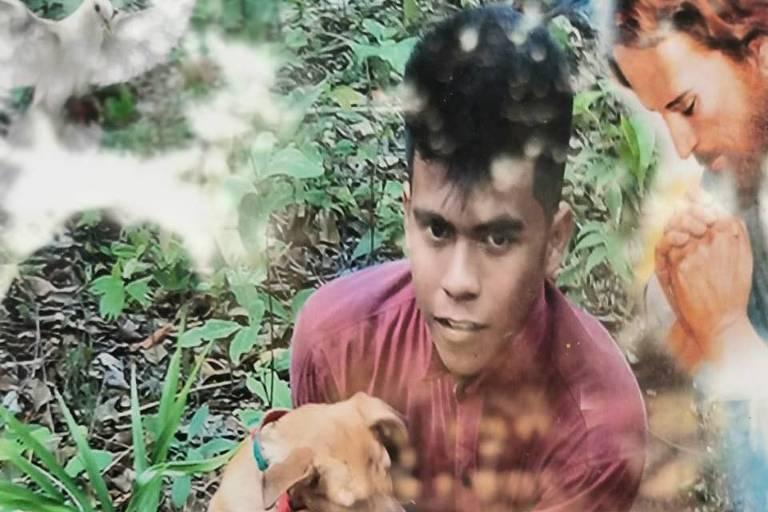 Ezequiel Pedraza Tosube, 18, foi uma das vítimas