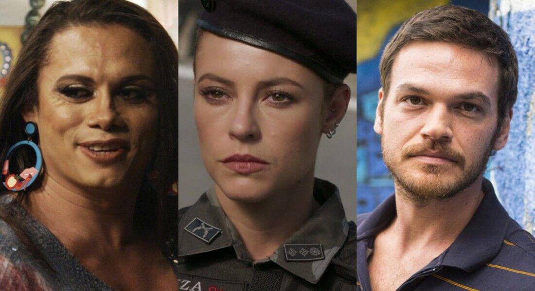 Silvero Pereira, Paola Oliveira e Emilio Dantas viveram personagens marcantes na trama