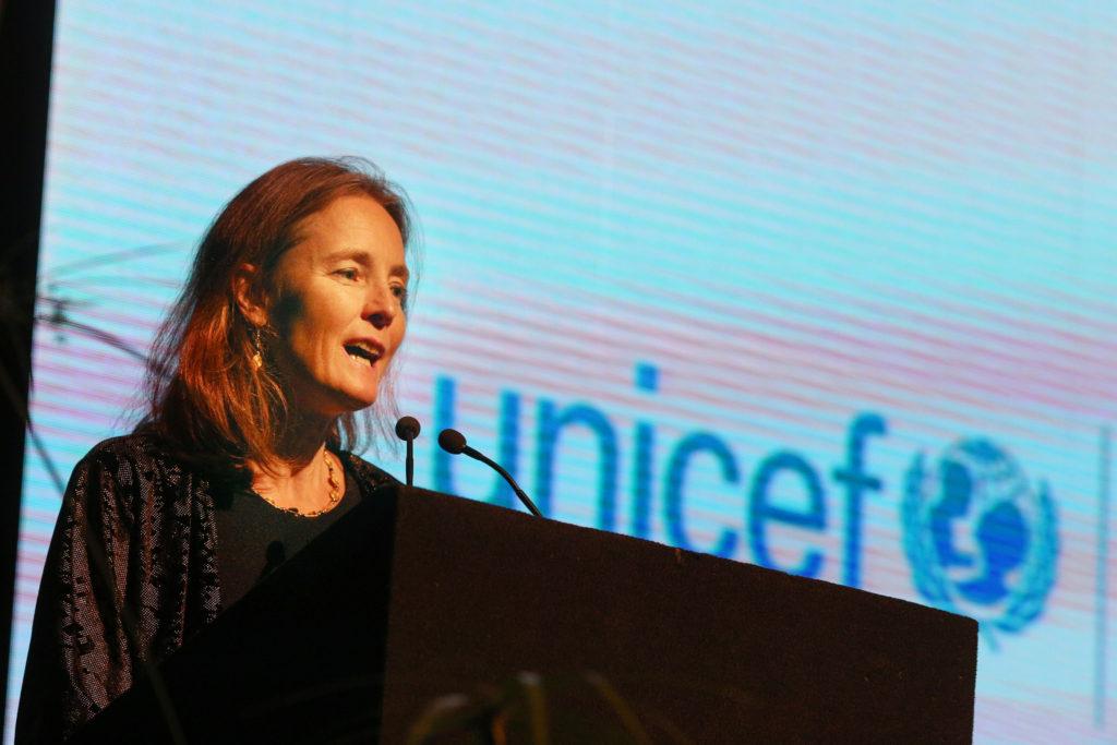 Florence Bauer, nova representante do UNICEF no Brasil