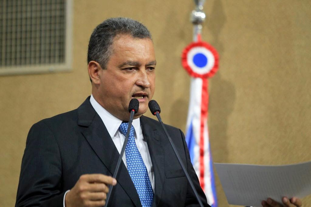 O governador Rui Costa (PT)