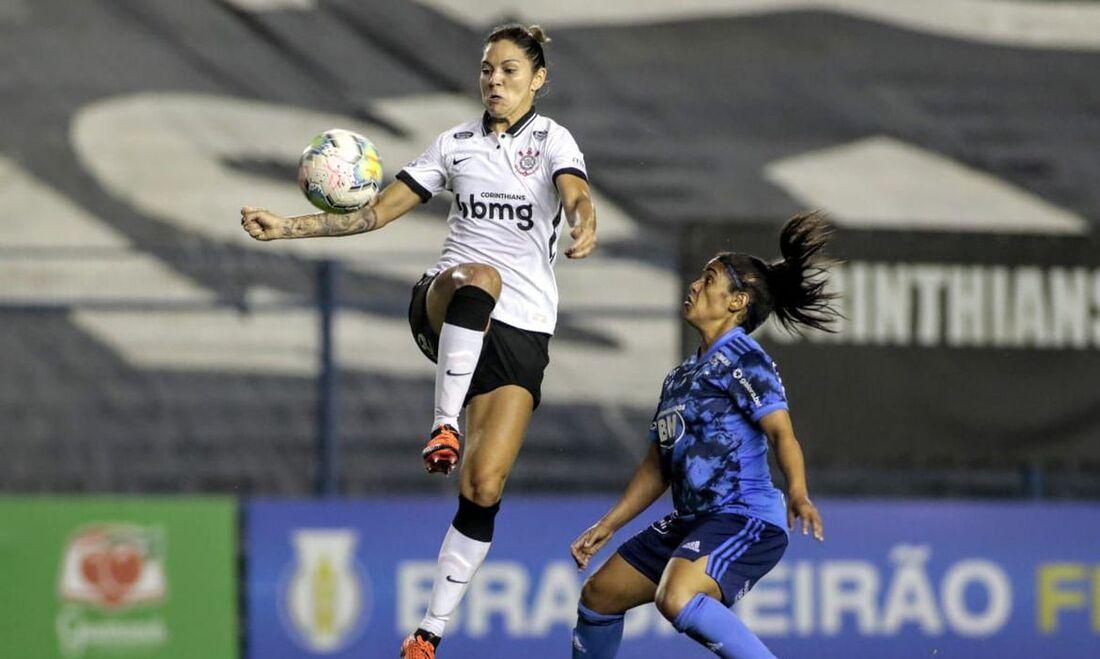 Corinthians venceu o Cruzeiro por 4 a 1, pela sétima rodada do Brasileirão feminino