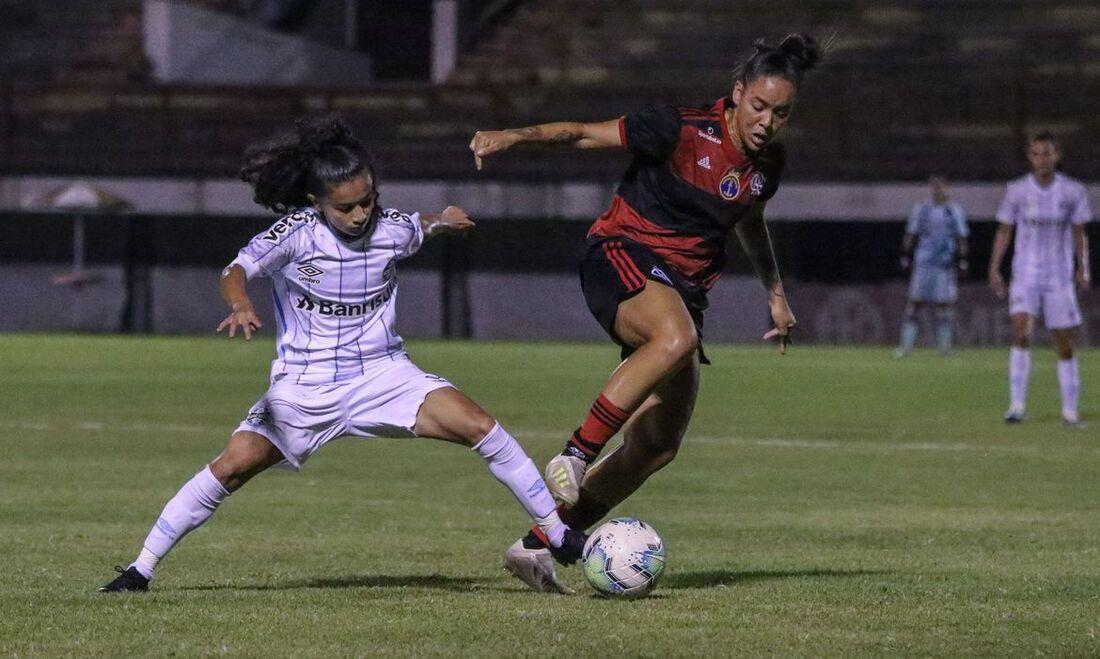 Flamengo bateu o Grêmio por 2x0, pela 11ª rodada da Série A1 do Brasileiro Feminino