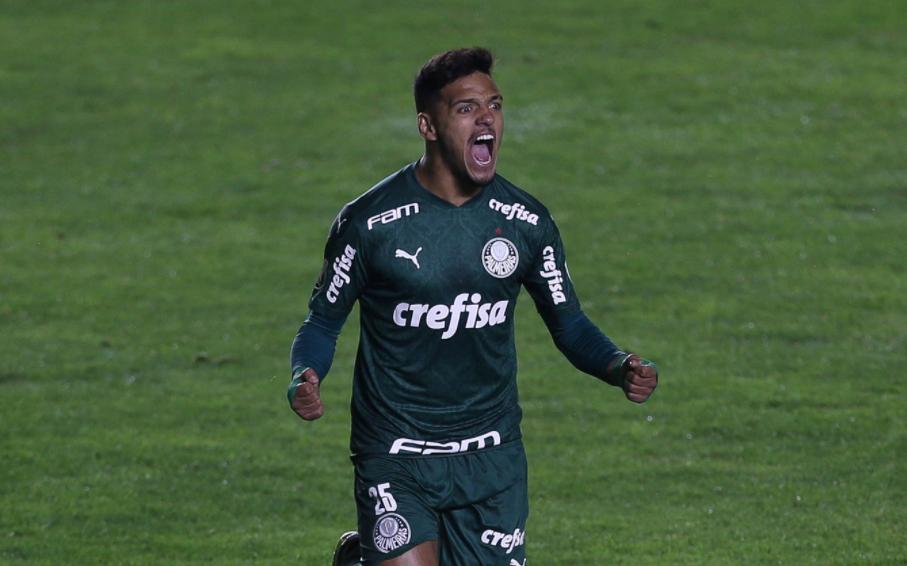 Gabriel Menino, meio-campista do Palmeiras