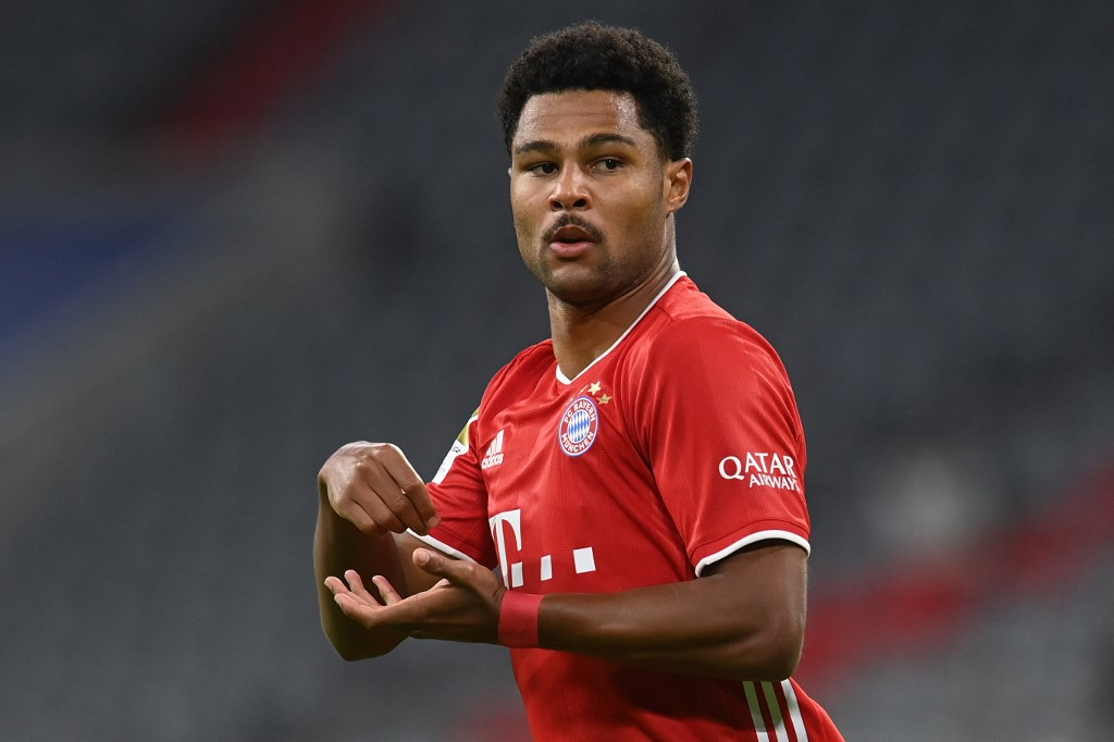 Gnabry anotou três gols na goleada do Bayern nesta sexta-feira (18)