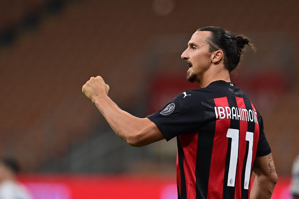 Ibrahimovic, atacante do Milan
