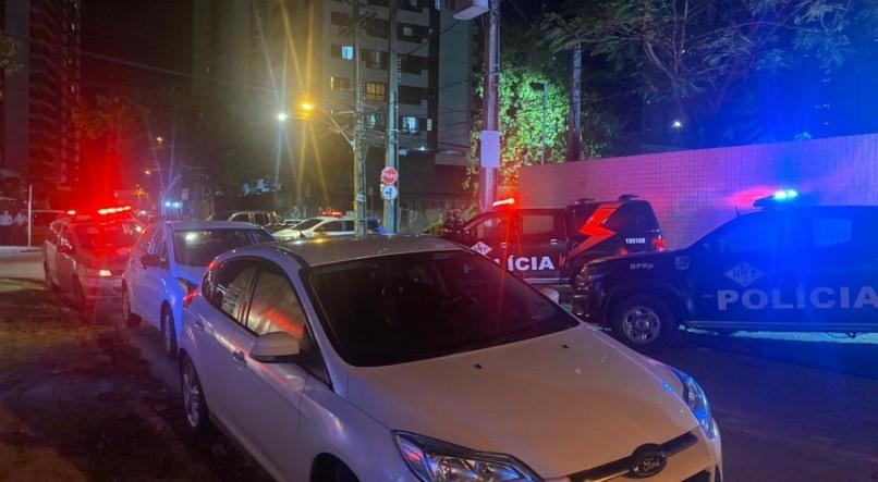 Polícia Militar foi acionada após tiroteio em bar localizado em Boa Viagem