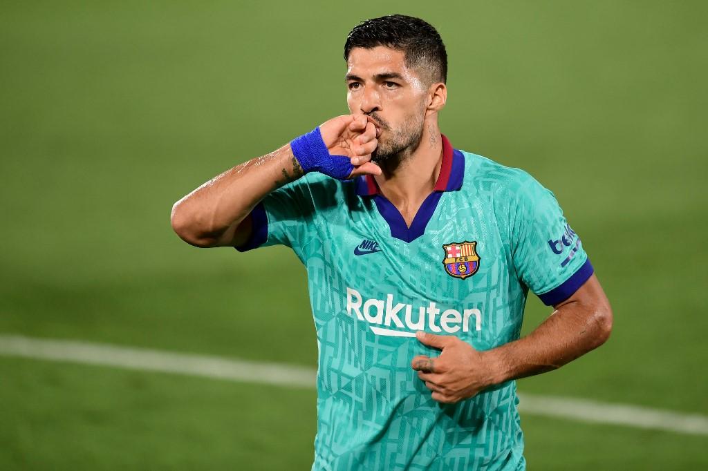 Luis Suárez vai defender as cores do Atlético de Madrid