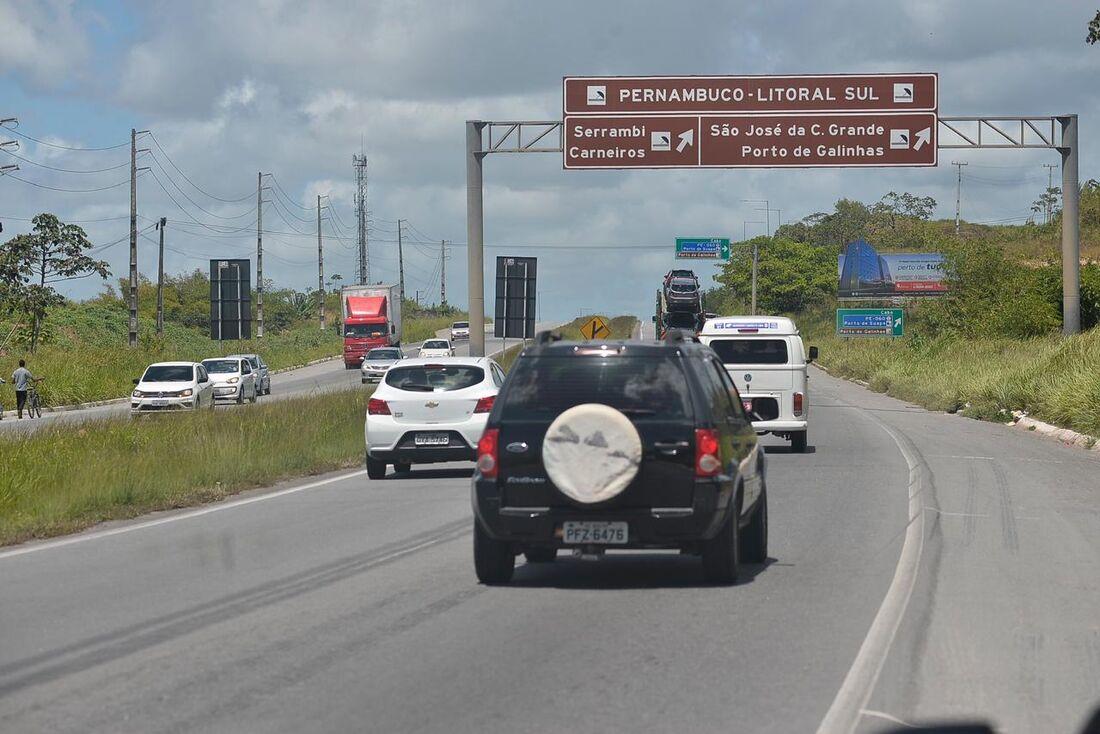 Movimentação nas estradas