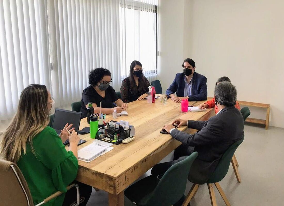 Reunião para a formalização da iniciativa
