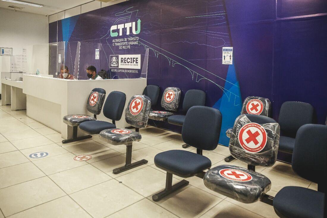 Atendimento presencial da CTTU será retomado na quinta-feira (1), segundo protocolos