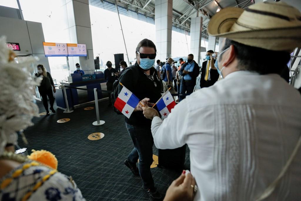 Panamá montou acampamentos em sua fronteira com a Colômbia