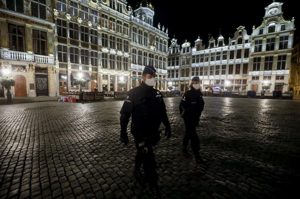 Bruxelas é um dos novos epicentros da pandemia na Europa
