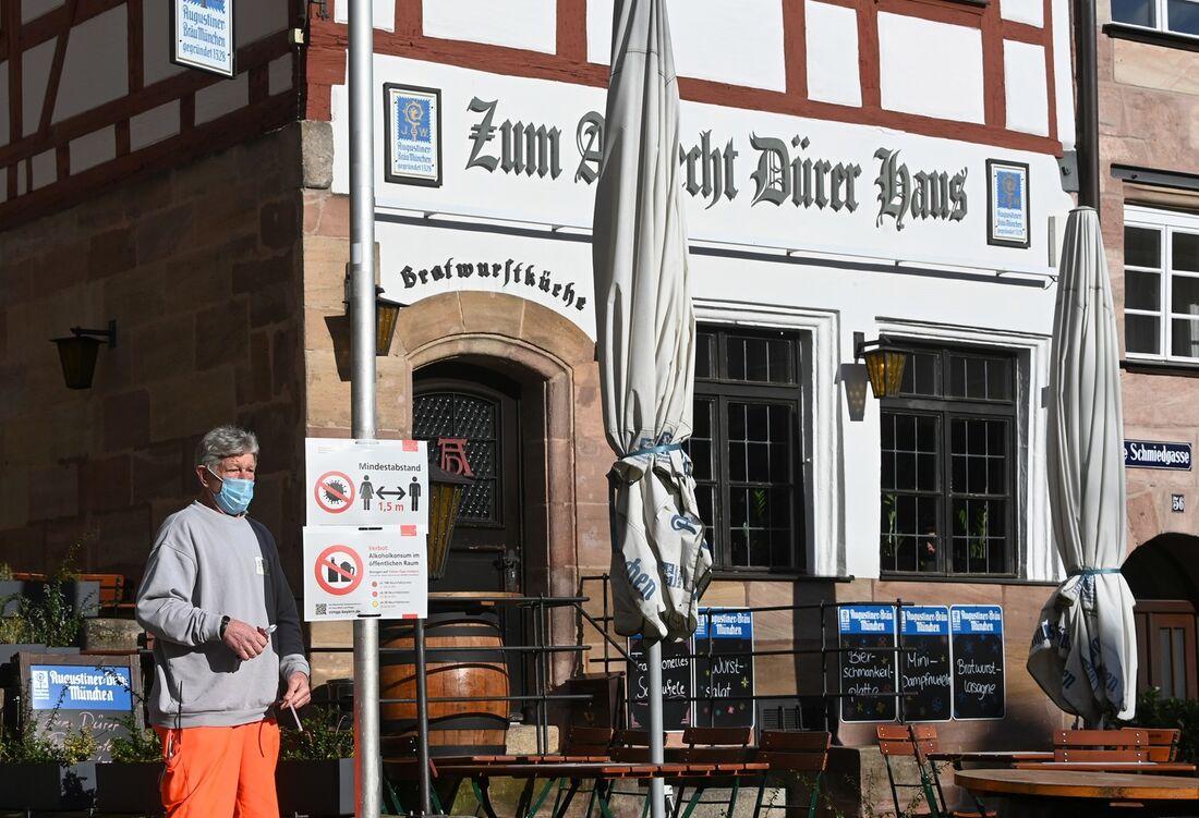 Medidas restritivas na Alemanha atinge bares, restaurantes e setor cultural