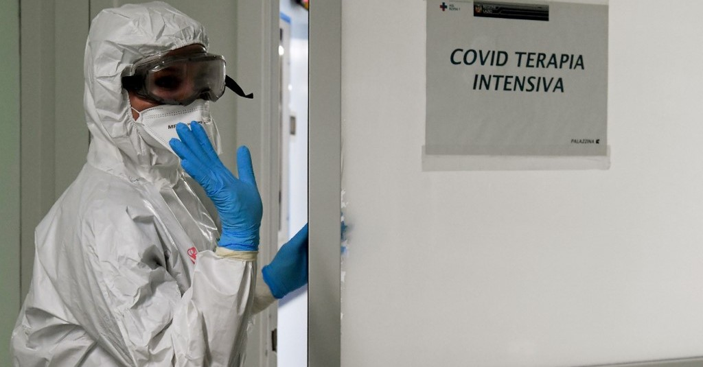 Hospitais na Itália registram aumentando no número de internações pela Covid-19