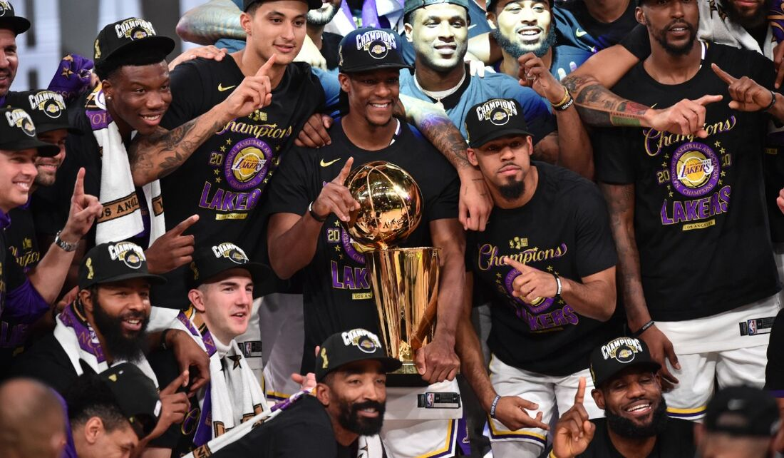Lakers é o campeão da temporada 2019/2020 da NBA