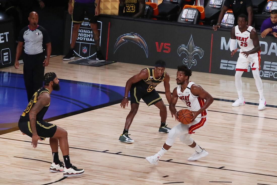 Miami Heat e Los Angeles Lakers fizeram fantástico jogo 5 das finais da NBA
