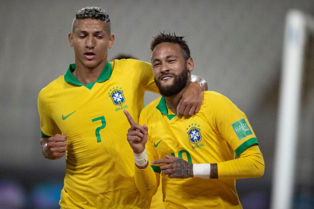 Richarlison e Neymar