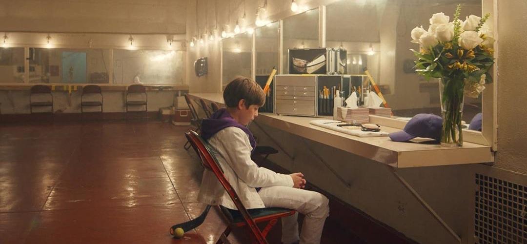 Jacob Tremblay em clipe de single de Justin Bieber