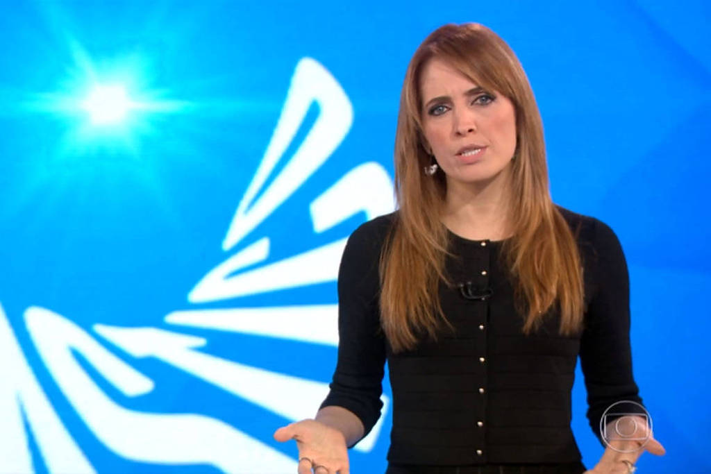A jornalista Poliana Abritta