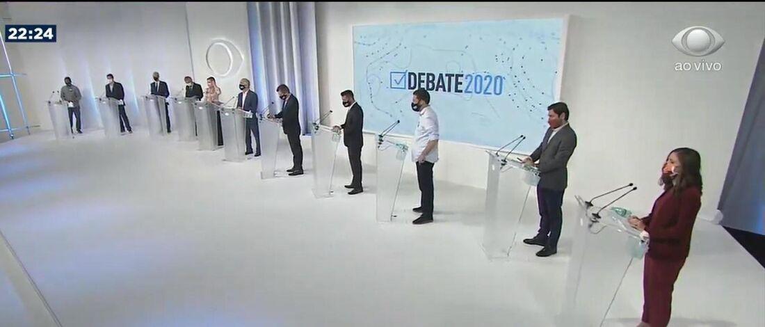 Primeiro debate para prefeitura de SP