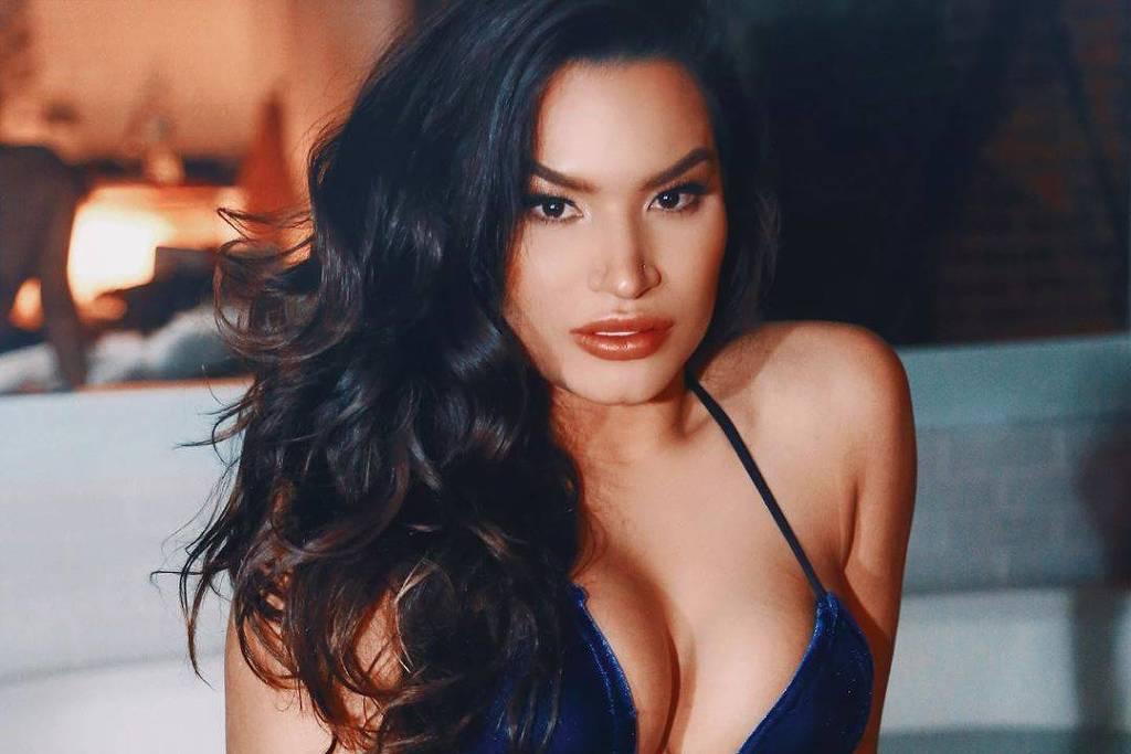 A modelo Raissa Barbosa