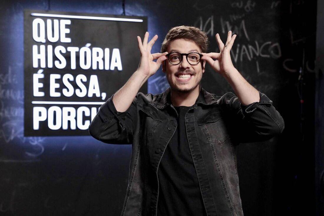 Fabio Porchat com o programa Que História É Essa, Porchat?