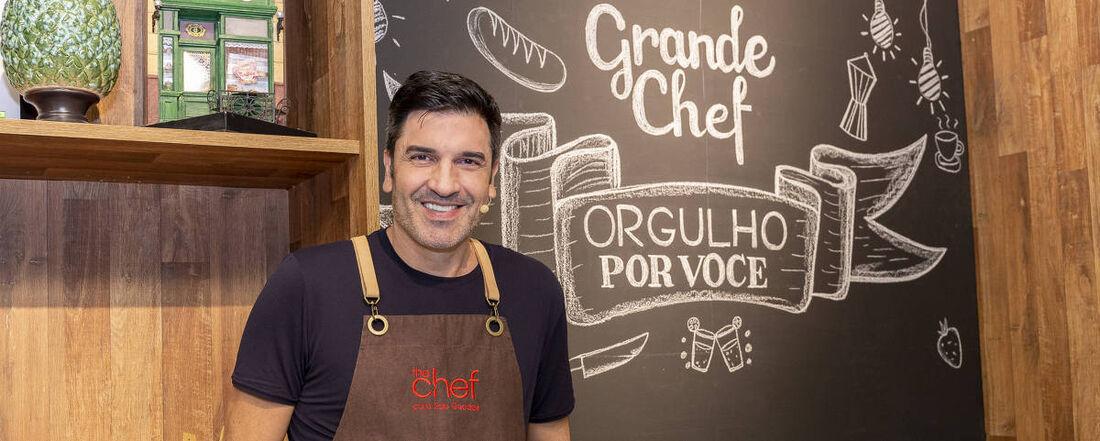 O chef e apresentador de TV Edu Guedes