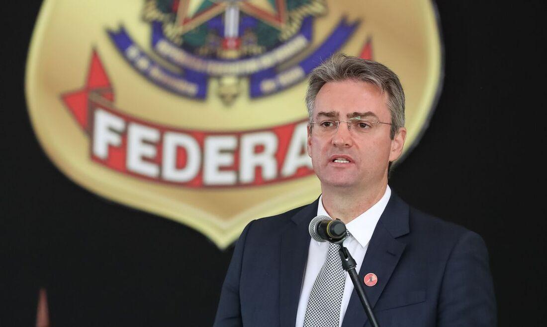O diretor-geral da Polícia Federal (PF), Rolando Alexandre de Souza
