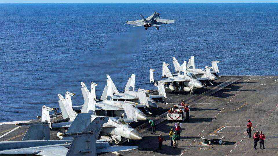 Exercícios navais no mar da China foram intesificados pelos EUA