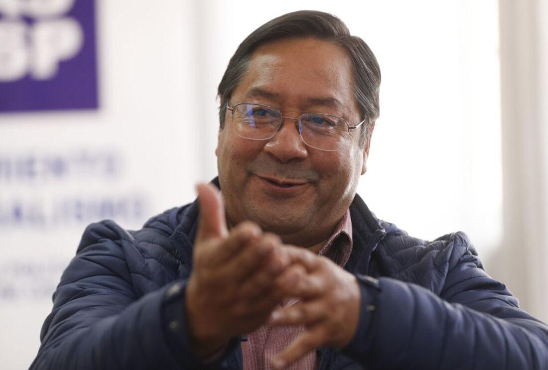 Luis Arce, presidente eleito da Bolívia