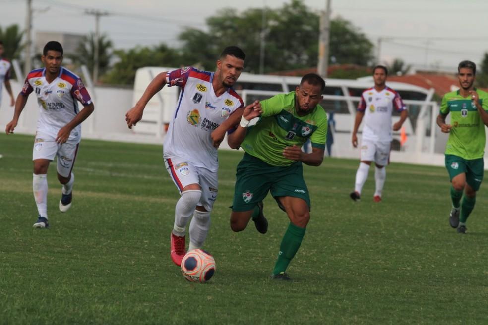 Afogados x Salgueiro no Campeonato Pernambucano