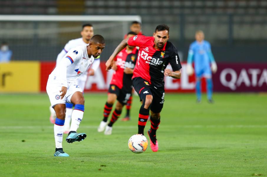 Bahia tropeçou ante o Melgar, no Peru, com gol contra, pela Sul-Americana