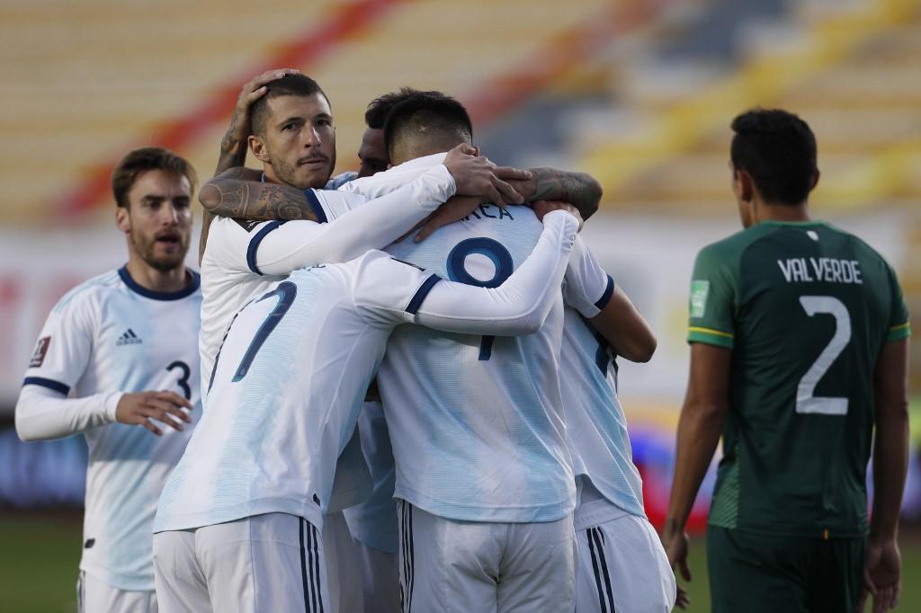 Argentinos celebram vitória na altitude de La Paz após 15 anos