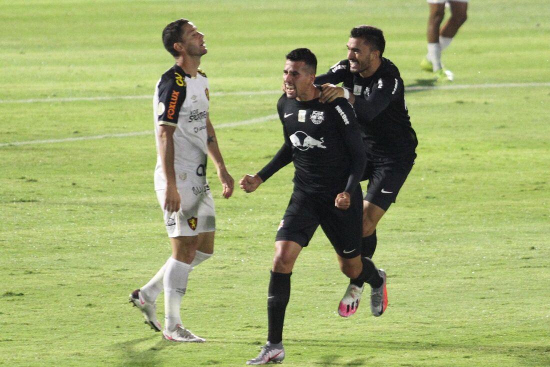 Lances de RB Bragantino x Sport