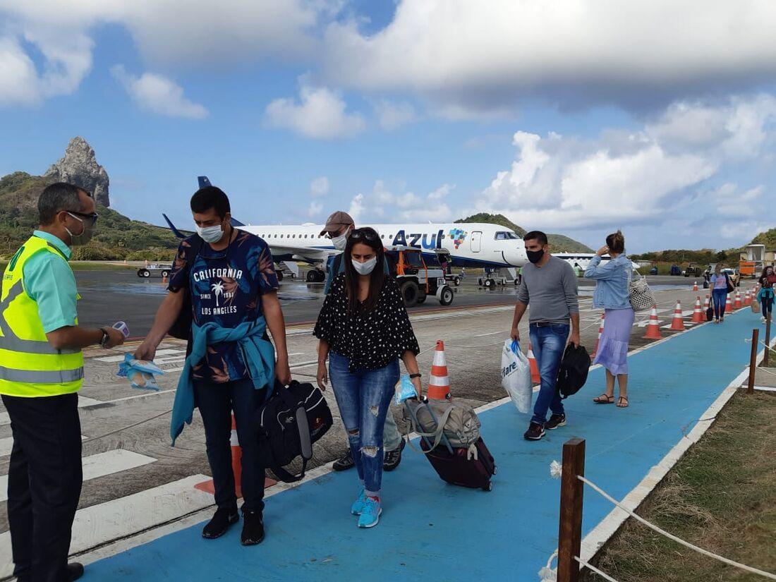 Retomada do turismo em Fernando de Noronha