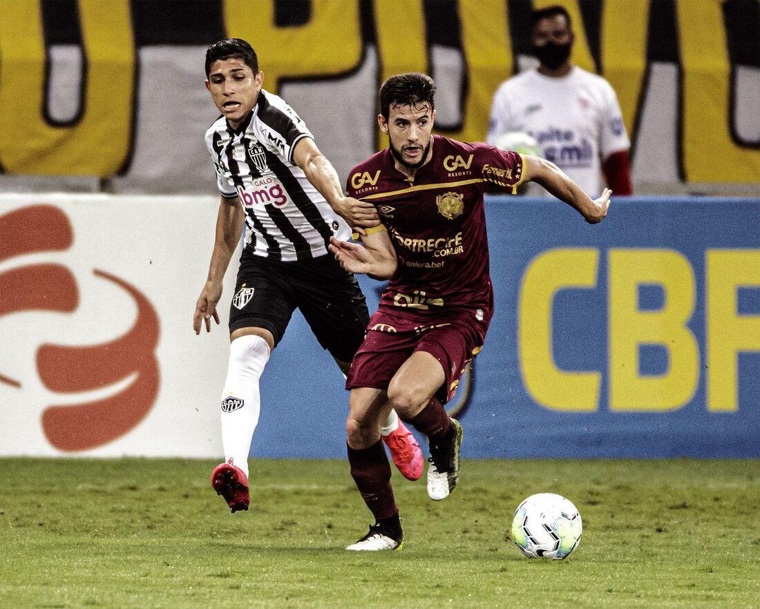 Leandro Barcia, atacante do Sport