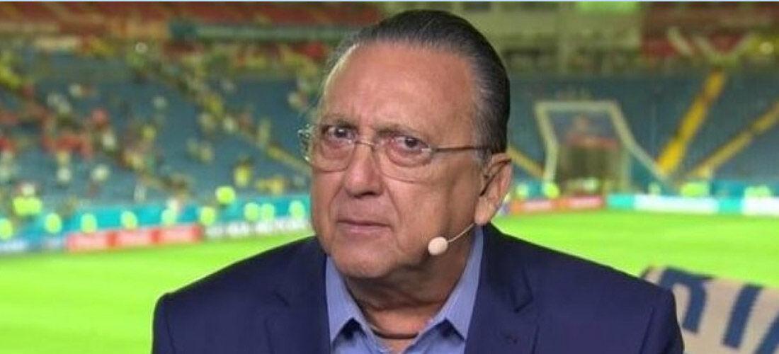 Galvão Bueno está há sete meses sem narrar eventos esportivos