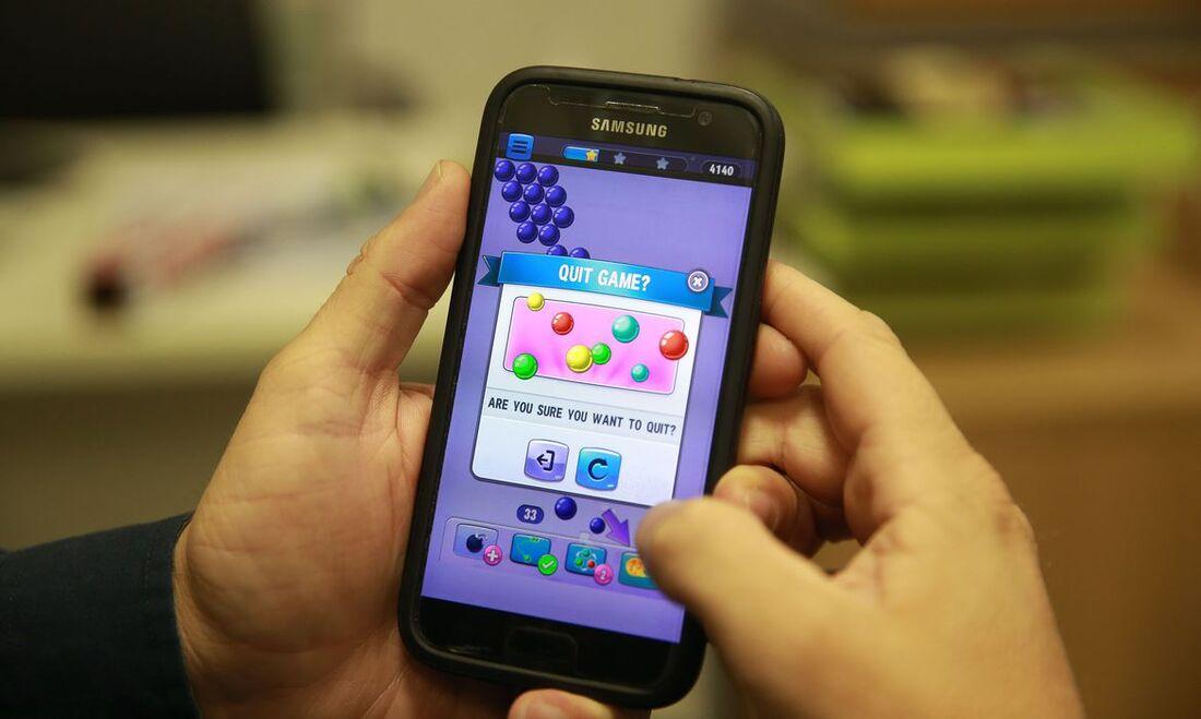 Games no celular