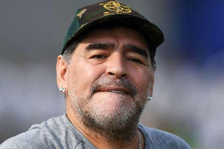 Maradona, ídolo argentino