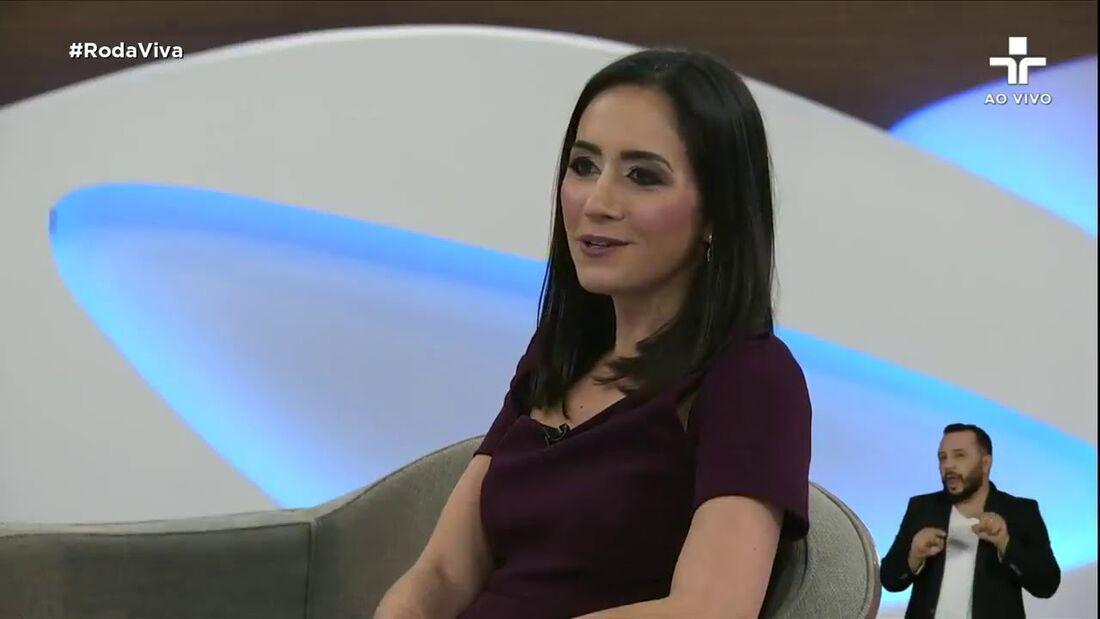 Cristina Junqueira, do Nubank, em entrevista ao Roda Viva, da TV Cultura