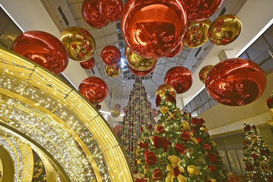 Decoração de Natal do Shopping Recife já começou a ser instalada