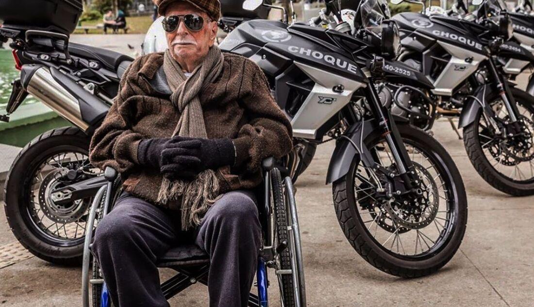 João Freire Jucá Sobrinho, 104, da Polícia Militar do antigo estado da Guanabara